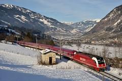 1216 940, SLp 14303. Angertal (M. Kolenig) Tags: 1216 slb tauernbahn gasteinertal schnee wald baum