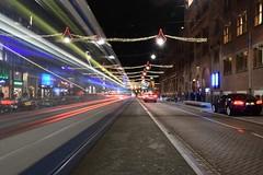 Creating double expossure in Amsterdam (Martijn van Sabben) Tags: nikon iamnikon nikonnl d500 wpp cars traffic tram cool coolshot longexpossure awesome ngc zoomnl atnight streetphotography streets street defotoblogger avondfotografie nightphotography night netherlands nederland holland dutch amsterdam