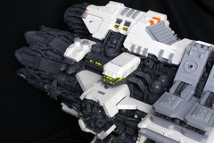 Ugly Duckling Long Range Research Vessel (Blake Foster) Tags: lego space spaceship microscale microspace moc ugly duckling afol starship