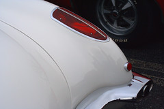 1960 Corvette rear fender detail (Light Orchard) Tags: car auto automobile sports antique classic vintage old restored chevrolet chevy corvette vette 1960 american ©2019lightorchard bruceschneider