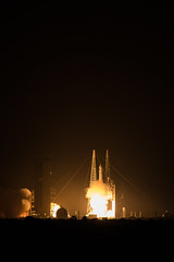 Delta IV Launch with WGS-10 from LC-39 Gantry 3/15/2019 (stargazerpearce) Tags: ccafs rocket kennedyspacecenter ksc 45thspacewing cape canaveral kennedy space capecanaveralairforcestation capecanaveral exploreksc kscvc lc39 slc37 ula ulalaunch united launch alliance