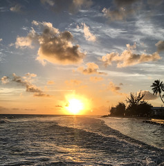 IMG_1131 (pwbaker) Tags: sunset caribbean sky beach barbados bridgetown vacation