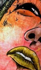 Yumiko (franck.sastre) Tags: art streetart colors imagine painting picture lips eyes exhibition