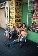 People on First Avenue, 1972 (Seattle Municipal Archives) Tags: seattlemunicipalarchives seattle downtownseattle adultbookstores 1970s