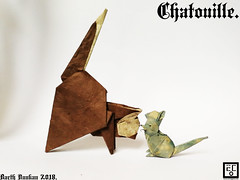 Chatouille - Barth Dunkan. (Magic Fingaz) Tags: barthdunkancatchatgatokittenorigamiorigamicatgatto kedi kočka kot kucing mačka paperfolding γάτα кіт мачка ネコ猫