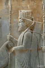 005 Hundred Column Hall (Sedsetoon), North Doorway, Persepolis  (4).JPG (tobeytravels) Tags: artaxerxes xerxes ahurmazda alexanderthegreat