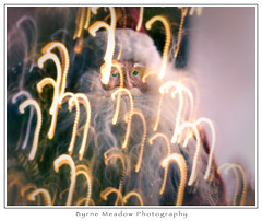 Symbolism Of Christmas (Michael Besant) Tags: christmas santaclaus michaelbesant byrnemeadowphotography intentionalcameramovement icm multipleexposure
