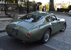 ASTON MARTIN DB4 GT Zagato - 1960 (SASSAchris) Tags: aston martin voiture anglaise david brown db4 gt gtz zagato londres