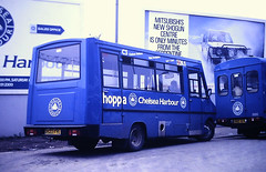 Slide 127-70 (Steve Guess) Tags: london transport buses minibus chelsea england gb uk iveco robin hood routec3 d522fyl