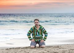 Playa Los Muertos Puerto Vallarta (jazztubo68) Tags: puertovallarta autorretrato selfportrait aureliano aurelianoalvarez nikon d5500 50mm mexico playa beach atardecer oceanview ocean