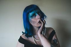 Auto Retrato/Self Portrait (jullieph) Tags: beauty dark siren mermaid makeup halloween fineart conceptual brazil photoshoot portrait