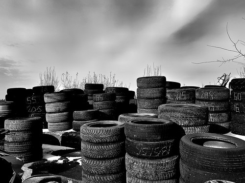 it is a lot of old wheels ©  Sergei F