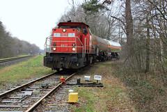 DB Cargo 6417 @ Delden (Sicco Dierdorp) Tags: db dbc cargo serie6400 bediening delden servo elementis klk kolb bos raccordement goor hengelo zutphen ketelwagen keteltrein
