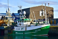 CY155 Grianan Oir - Fraserburgh Harbour - Aberdeenshire Scotland - 13/11/2018 (DanoAberdeen) Tags: danoaberdeen danophotography fraserburghscotland fraserburgh aberdeenscotland aberdeenshire trawlers trawlermen fishingtrawlers scottishtrawlers salmon haddock cod shellfish workboats tug northsea 2018 candid amateur autumn summer winter spring fraserburghharbour fish fishing fishingtown fishingport seafarers maritime whitefish whitefishport creels broch thebroch shipspotting shipspotters fishingboat northeast northeastscotland ship boat harbour lifeatsea shipbuilding marine northseafishing northseatrawlers cy155 griananoir