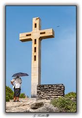 La Pointe des Châteaux (Gérard TINDILLIERE Photos) Tags: guadeloupe pointedeschâteaux croix mamie parapluie saintfrançois france