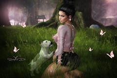 # ♥922 ~ sᴡᴇᴇᴛ sɪʟᴇɴᴄᴇ (sophieso.demonia) Tags: besom collabor88 belle event kitja artis