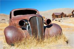 Oldtimer (Sandra Lipproß) Tags: 1937 chevroletcoupe bodie ghosttown statehistoricpark california travel abandoned ruins usa