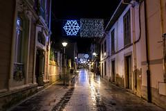 Calle Salvador Escandón. Luanco. Navidad 2018-19. (David A.L.) Tags: asturias asturies luanco callesalvadorescandón iluminación navidad navideña luz luces farola calle