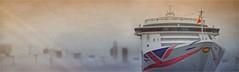 ALLE HENS AAN DEK !? (bert • bakker) Tags: aurora amsterdam thenetherlands nederland ship schip boot cruiseschip cruiseship boat harbor haven city stad nikon85mm18g