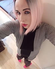 Trying out pink hair for the first time, then going on cam to see what the internet thinks of it :) (Ana Keel) Tags: trap transgender transvestite trans transisbeautiful tranny transcend tgirl tgurl tgirls tg crossdressers crossdressing crossdreamer crossdresser feminisation femboy