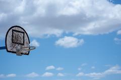 Hooping (Rushay) Tags: cloud backgrounds sport blue rim hoop basketball nature portelizabeth southafrica