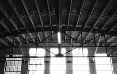 The Ben Lomond Hotel Garage has become The Monarch art studios and creative space in Ogden, Utah. (Shaun Nelson) Tags: canoneos10s kodakd76 kosmofotomono100 canon10s kosmo kosmofoto kosmofotomono monarch benlomond benlomondhotel themonarch film filmphotography filmisnotdead 35mm analog ishootfilm filmcamera believeinfilm filmcommunity staybrokeshootfilm filmfeed ogden ogdenutah otown ogdenisawesome ogdenwide