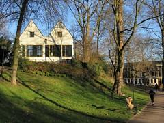 utrecht (gerben more) Tags: utrecht houses two park parc netherlands nederland