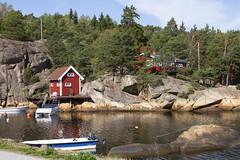 Edholmen 1.2, Hvaler, Norway (Knut-Arve Simonsen) Tags: edholmen kirkeøya hvaler norge норвегия norway noruega norwegen norvegia norvège नॉर्वे 挪威 ノルウェー நோர்வே νορβηγία sydnorge sørnorge østlandet glomma oslofjorden østfold norden scandinavia скандинавия э́стфолл фре́дрикстад гло́мма ослофьорд vann hav tre hytte brygge water sea cottage pier banco agua hierba árbol cabaña muelle wasser meer hütte acqua molo mare