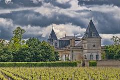 Vignoble et Chateau (Only photoshoot, don't be afraid) Tags: hautmedoc kasteel wijngaard vignoble vineyard grapes wijn vin wein wine