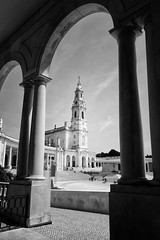 Our Lady of Fátima (Dan Haug) Tags: ourladyoffátima nossasenhoradefátima portugal catholic church shrine pilgrimage blackandwhite monochrome archway pilgrims holy fujifilm xh1 xf1655 xf1655mmf28rlmwr