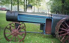 Cutaway Steam Engine (rentavet) Tags: analog canonphotura kodakhawkeyesurveillancefilm kodak2486