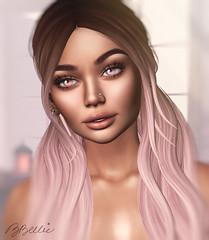 pink santa (babibellic) Tags: secondlife sl portrait poses people avatar applemaydesigns virtual blogger beauty babigiobellic bento babibellic glamaffair aviglam