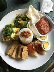 One of the sumptuous meals at Bliss (shankar s.) Tags: seasia indonesia java bali islandparadise baliisland touristdestination hotel lodgings accomodation resort entrance blissubudspaandbungalow ubudbali reception catering food plate roomservice plating tofu tepe meal