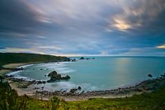 Cloudy sunset near Westport - New Zealand (paolo_barbarini) Tags: sunset landscape bay westport newzealand nature clouds nuvole nuovazelanda tramonto baia sea mare paesaggio