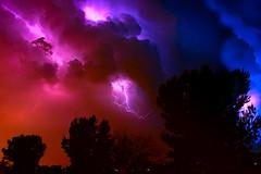 lightning composite #02 30Jul18 slide (johngpt) Tags: lightning newmexico clouds storm places fujifilmx100f sliderssunday hss
