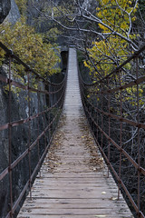 DSC_7171 (Jesus DTT) Tags: otoño cahorros monachil granada puente colgante bridge