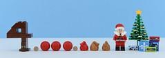 🎄4 Million views !!!🎄 (Alex THELEGOFAN) Tags: lego legography minifigure minifigures minifig minifigurine minifigs minifigurines alex thelegofan noël christmas 4 million view views congrats white blue