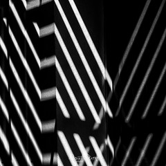 Reflected Shadows (Russ Dixon Photography) Tags: russdixon russdixonphotography abstract monochrome mono bw buildings blackandwhite architecture squareformat square newzealand newplymouth taranaki fuji xt3