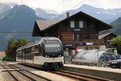 2018-07-12, MOB, Lenk (Fototak) Tags: schmalspurbahn treno railway train simmental berneroberland switzerland mob mvr 7506 gtw stadler
