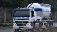 D - Rova-Mix DAF CF 85.410 (BonsaiTruck) Tags: spitzer rovamix daf lkw lastwagen lastzug silozug truck trucks lorry lorries camion caminhoes silo bulk cizterne powdertank