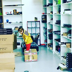 Little helper at the warehouse today (preppersshopuk) Tags: ifttt instagram prepping preppers prep bug out bag survival outdoors