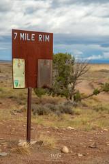 7 Mile Rim (W9JIM) Tags: w9jim 5d4 24105l sign 7milerim moab utah unitedstates canoneos5dmarkiv ef24105mmf4lisusm 105mm