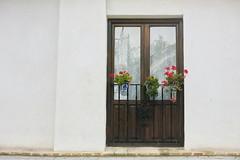 Hoy me he asomado (Micheo) Tags: granada spain albaicin ventana window andalucia españa cortinas encajes macetas pots balcon balcony