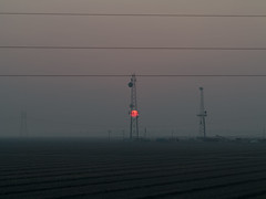 Evening walk at Yolo Bypass (atgc_01) Tags: canon g1x wildfire smoke campfire butte california yolobypass sunset