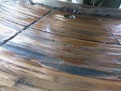 Resize of P1360909 (OpalStream) Tags: rudder marine vessel repair works overhauling workshop measurements filler gauge dirt