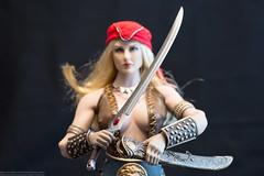 Pirate Arhian Photo Review (edwicks_toybox) Tags: 16scale arhcomix tbleague arhian dagger executivereplicas femaleactionfigure phicen pirate piratearhian seamlessbody sword swordsandsandals