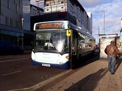 Stagecoach sunderland 24003 (Cameron's bus photos) Tags: nebuses scaniaomnilink sp57cnj 24003 stagecoachsunderland