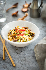 udon with mushrooms (Malgosia Osmykolorteczy.pl) Tags: food foodphoto foodstyling foodphotography foodporn foodstylist feed foodie fotografia
