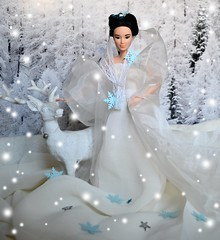 1st december: welcome winter!!! (ElenaDolls) Tags: winter snow barbie asian kaylalea mtm snowqueen