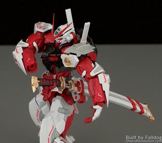HiRM Astray Red Frame Gundam 33 by Judson Weinsheimer
